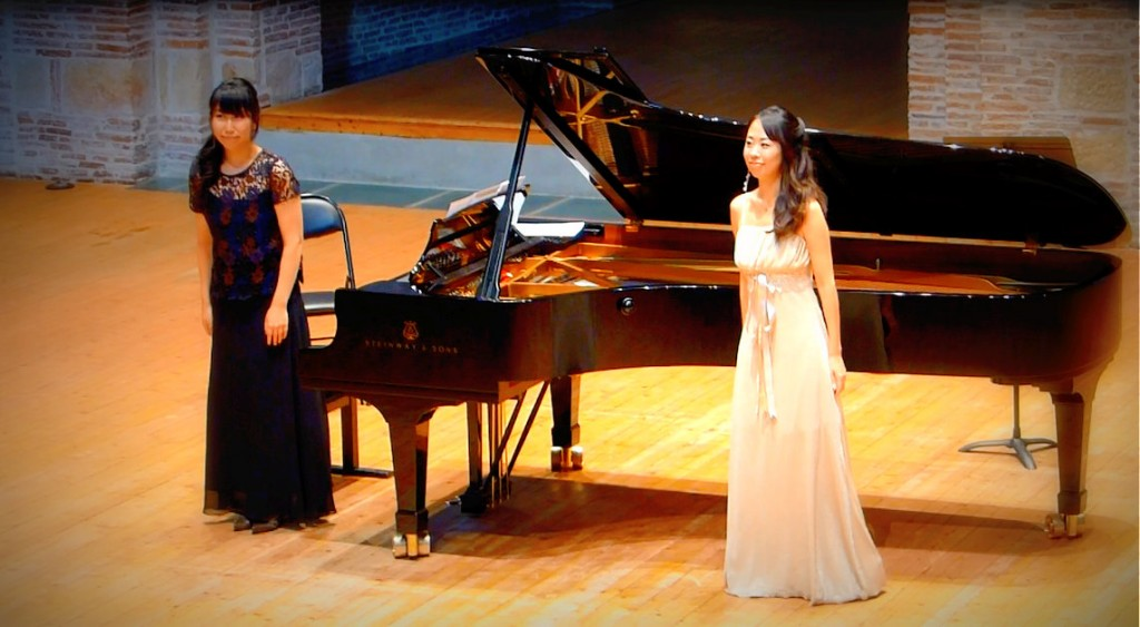 Mayako Ito Ayaka Niwano Concours mélodies françaises toulouse
